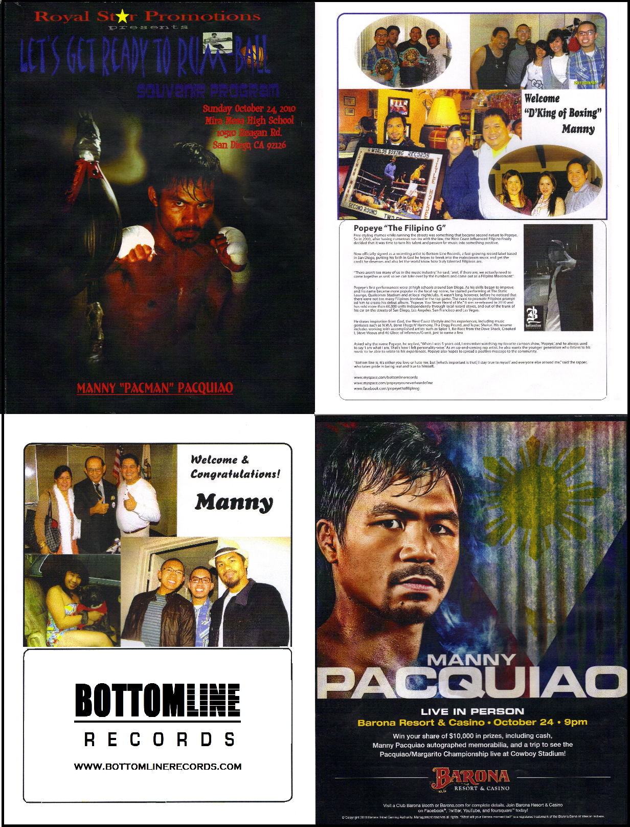Pacquiao vs Mayweather - Fight of the Century 2