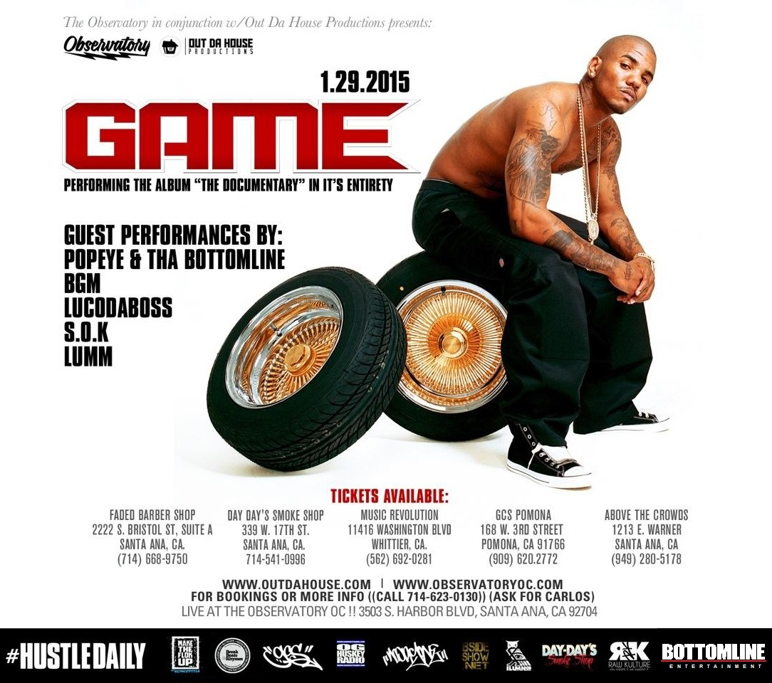 The Game - Show Flyer 1